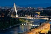 Millenium bridge in Podgorica